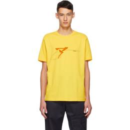 Affix Yellow S.E.S INC. T-Shirt AW20TS04