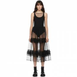 Molly Goddard SSENSE Exclusive Black Aria Dress MGSSDS-02