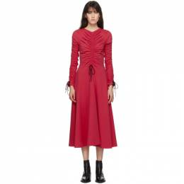 Molly Goddard SSENSE Exclusive Pink Cotton Layla Dress MGSSDS-04