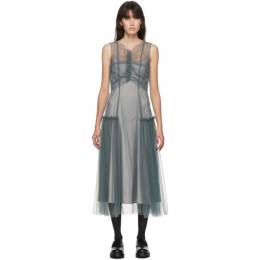 Molly Goddard SSENSE Exclusive Grey Nova Dress MGSSDS-01