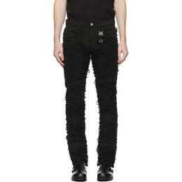 1017 Alyx 9Sm Black Blackmeans Edition Six-Pocket Jeans AZMPA0086FA01.F20