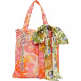 Collina Strada Pink Floral Meme Bag XX9003