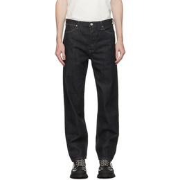 Jil Sander Indigo Rinsed Raw Denim Standard Jeans JPUR663102_MR246200