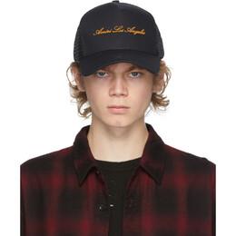 Amiri Black Trucker Hat W0A39626CO