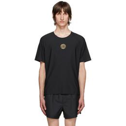 Versace Underwear Black Technical Medusa T-Shirt AGU15012 A232439
