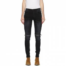 Amiri Black Denim MX2 Jeans W0M01517SD
