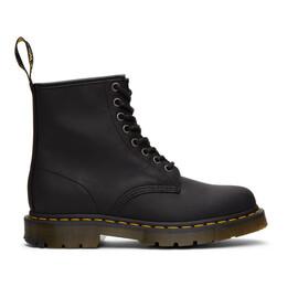 Dr. Martens Black Wintergrip 1460 Boots R24039001