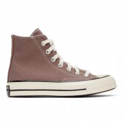 Converse Purple Chuck 70 High Sneakers 168510C