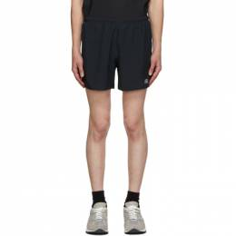 New Balance Black Medium Length Impact Run Shorts MS01241