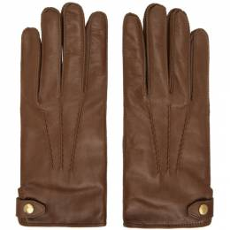 Dunhill Tan Duke Gloves DU19RQGVD1T