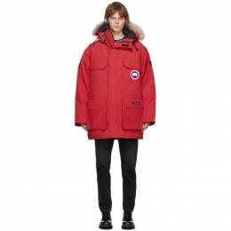 Canada Goose Red Down Expedition Parka 4660M