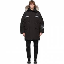 Canada Goose Black Down Resolute Parka 8501M