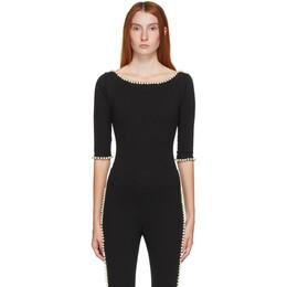 Marc Jacobs Black Capezio Edition The Leotard Bodysuit C6000119