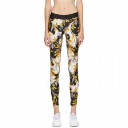 Versace Underwear White Allover Print Leggings AGD18016_A235918_A702