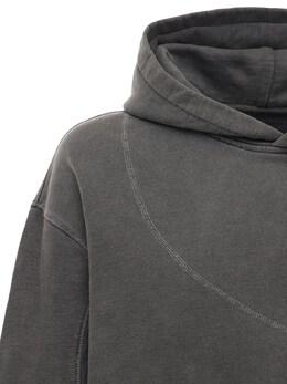 Panelled Cotton Hoodie W/3d Pockets C2H4 72IY01006-REFSSyBHUkFZ0