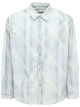 Рубашка Из Хлопка Intervein C2H4 72IY01004-T1BBTCBHUkFZ0