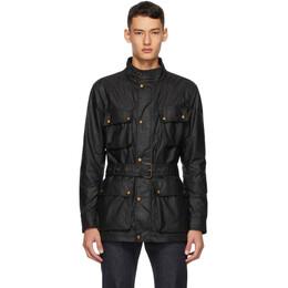 Belstaff Black Trailmaster Jacket 71050519C61N0158