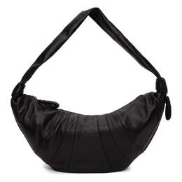 Lemaire Black Large Croissant Bag X CAO BG252 LL095
