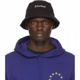 Etudes Black Training Bucket Hat E14M-810-01