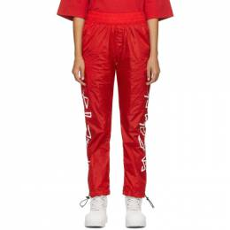 Palm Angels Red Desert Logo Track Pants PMCA012F20FAB0012501