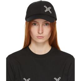 Kenzo Black Sport Cap FA65AC221F21