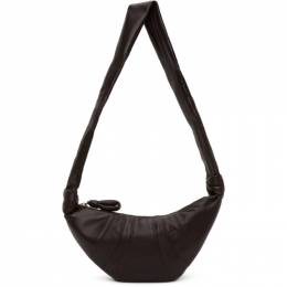 Lemaire Brown Small Croissant Bag X CAO BG253 LL095