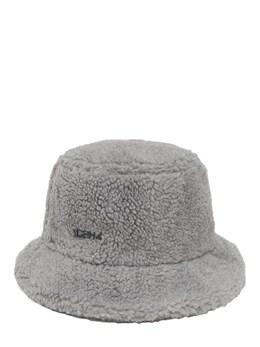 Logo Fleece Bucket Hat C2H4 72IY01017-TElHSFQgR1JBWQ2