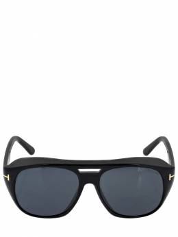 Fender Bolded Round Sunglasses Tom Ford 71IXHQ001-MDFB0