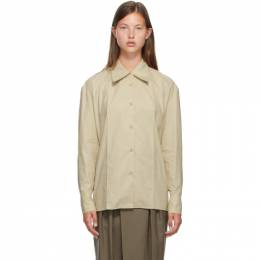 Low Classic Beige Classic Volume Sleeve Shirt LOW20FW_SH02BE