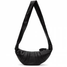 Lemaire Black Small Croissant Bag X CAO BG253 LL095