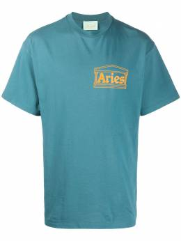Aries футболка с короткими рукавами и логотипом SQAR60000