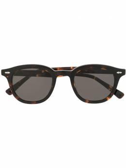 Gentle Monster солнцезащитные очки в оправе черепаховой расцветки DAYT1BK