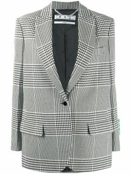 Off-White Tomboy Prince of Wales blazer OWEF032E20FAB0021055