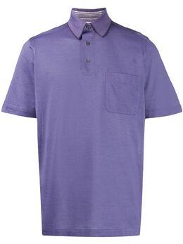 Brioni рубашка поло из ткани пике PME09PJU002