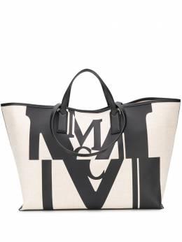 MCM сумка-тоут с логотипом MWPAAMH01