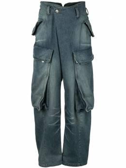 Julius джинсы карго с низким шаговым швом 707PAM9ID