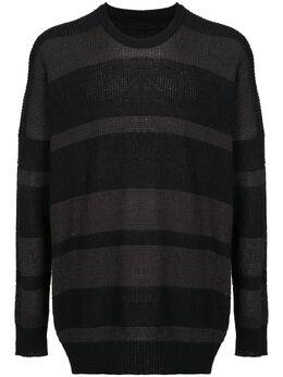 Julius свитер в полоску 708KNM1