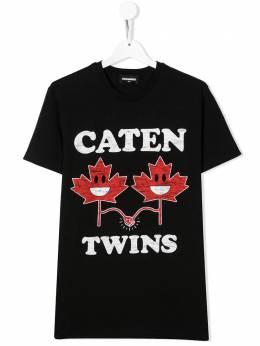 Dsquared2 Kids футболка с принтом Caten Twins DQ0499D002F