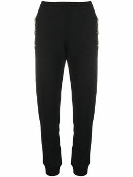 Moschino спортивные брюки узкого кроя A03275527