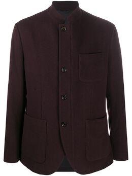 Eleventy пиджак с воротником-стойкой B75GIAB01CAS26011