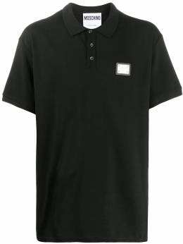 Moschino рубашка поло с логотипом A12047042