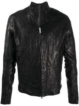 Isaac Sellam Experience куртка с жатым эффектом SEAMLESSH21CRASSPOUILLE