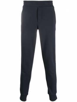 Moncler спортивные брюки с лампасами F20918H71700V8162
