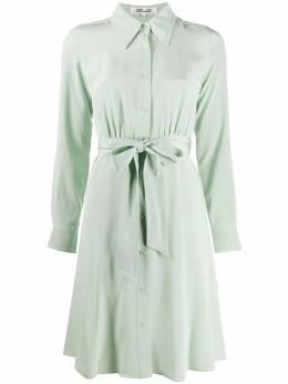 Dvf Diane Von Furstenberg платье-рубашка с поясом 14567DVF
