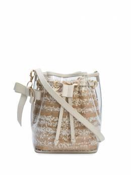 Zac Zac Posen сумка-ведро с кулиской и бантом-подвеской 29ZP6618980
