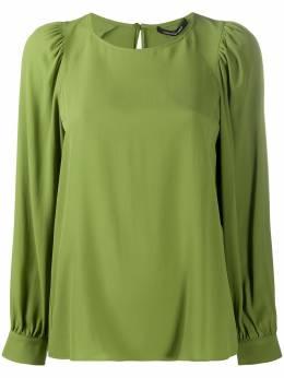 Luisa Cerano блузка с рукавами бишоп 2282222179