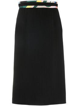 Emilio Pucci юбка-карандаш с контрастной окантовкой 0RRV300R610