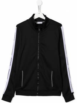 Givenchy Kids куртка-бомбер с логотипом H0003309B
