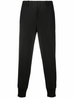 Neil Barrett зауженные брюки низкой посадки PBPA78SHP026