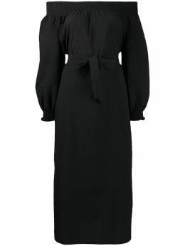 Baum Und Pferdgarten платье миди с открытыми плечами 20963
